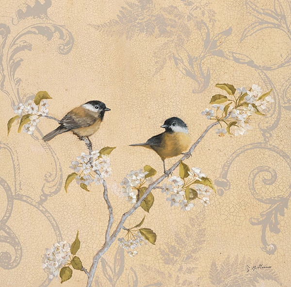 Chickadee & Pear