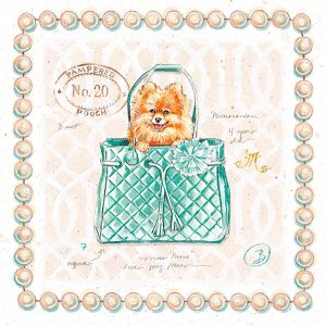 Pomeranian Puppy Purse