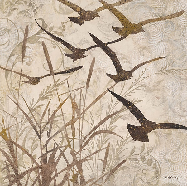Birds in Flight 1