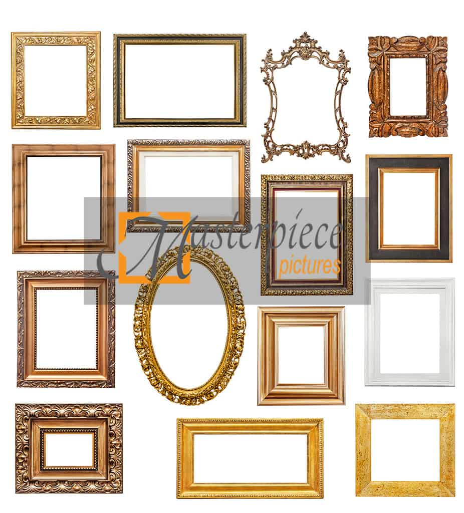 masterpiecepictures.com.au - Old picture frames